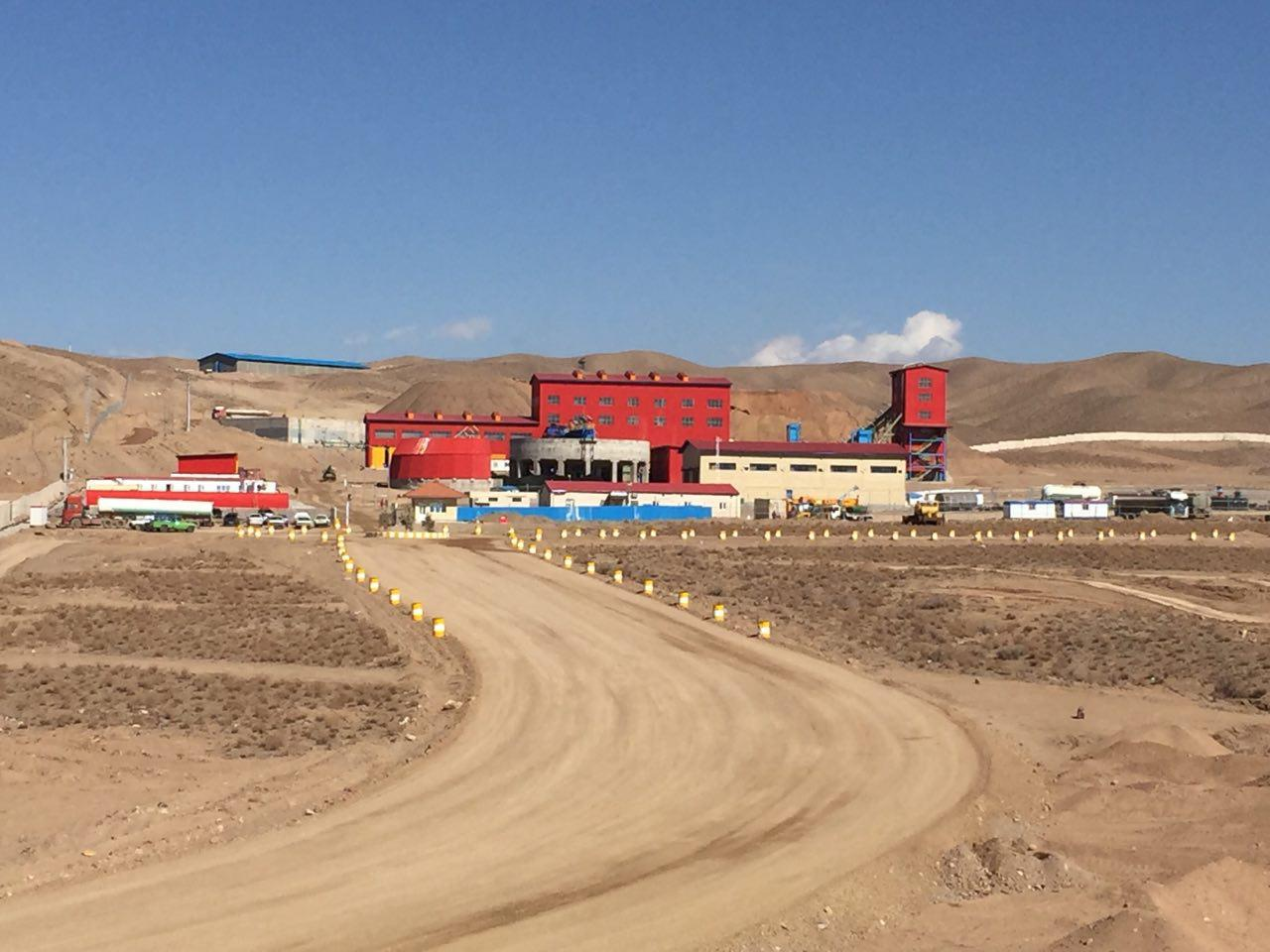 The first hematite iron ore processing plant with a private partnership with IMIDRO