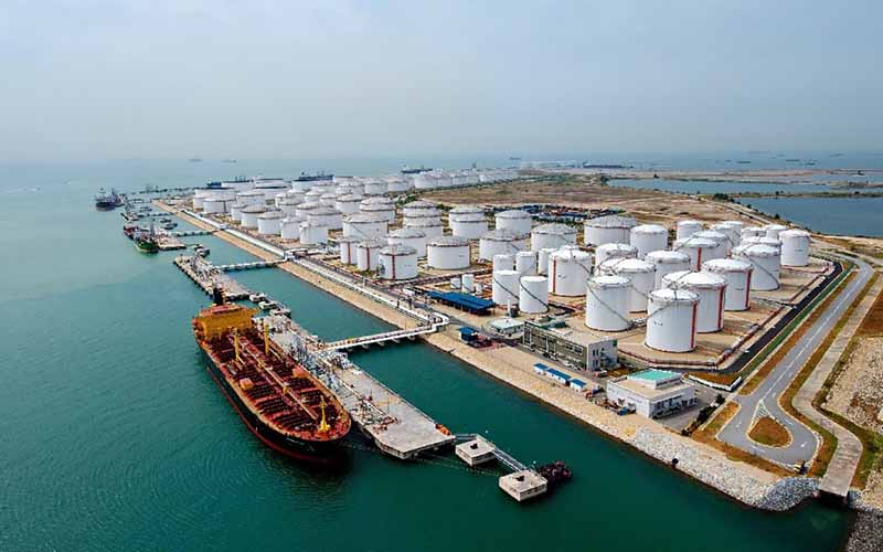40% reduction in exports of gas condensate