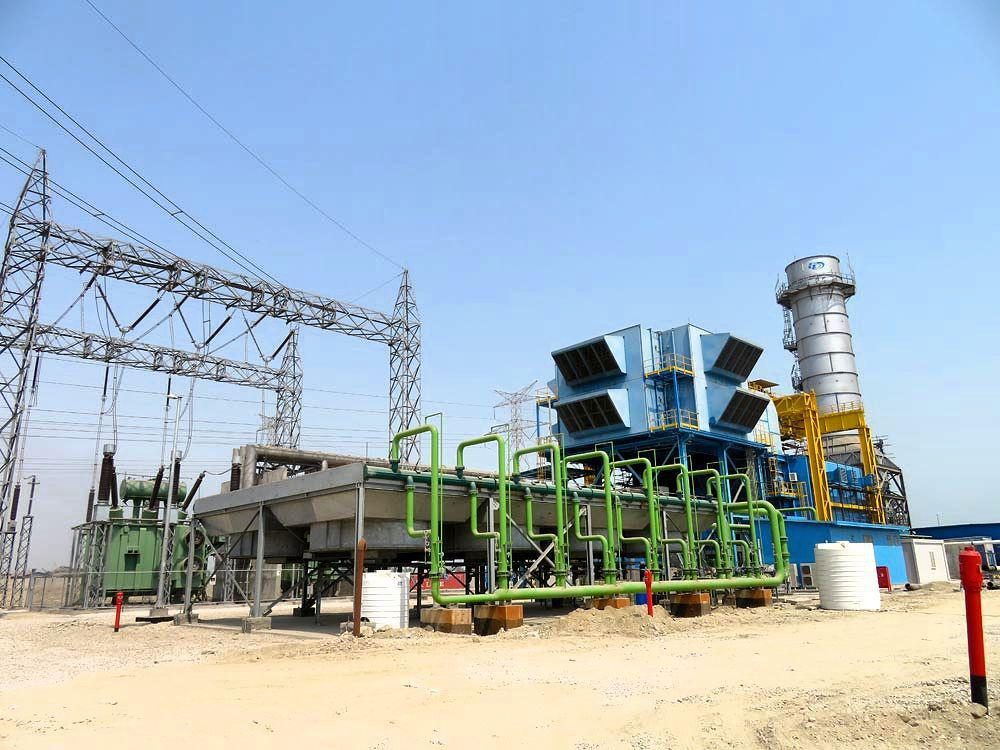 The Hormoz combined cycle power plant was opened