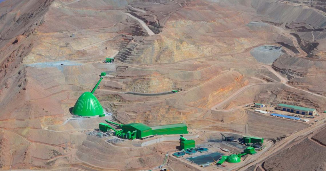 South32 eyes Chile's Caserones copper mine